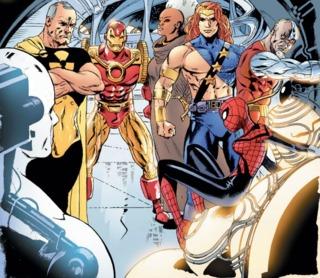 Killraven and his team on Earth X