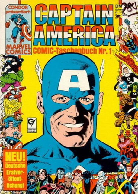 Captain America Comic-Taschenbuch