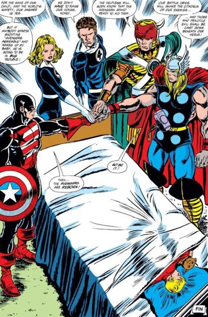 The new Avengers team