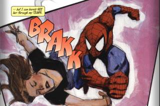 Spider-Man's first encounter with a 'super'