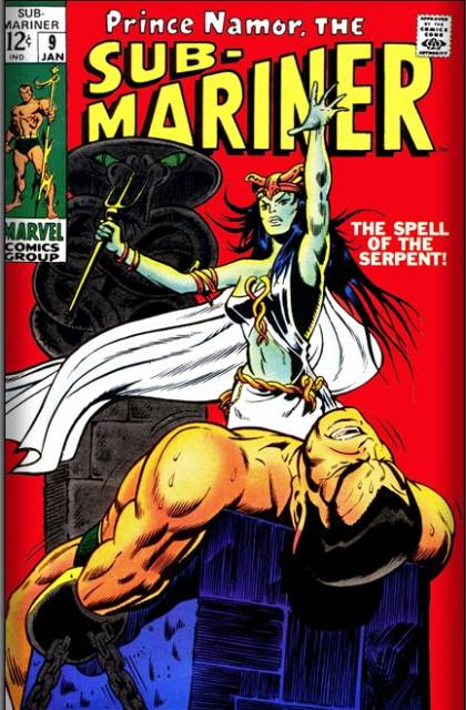 Namor is captured by The Priestess of Naga