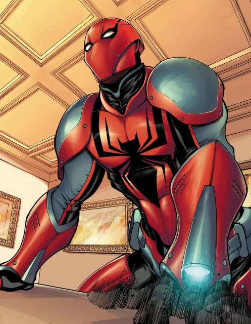 Spidey's Sinister Six armor