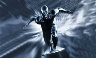 Silver Surfer as he appears in the movie.