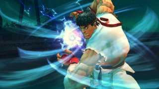 Ryu powering up a Hadoken