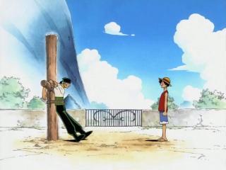 Zoro and Luffy Meet