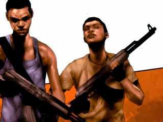 David (left) & Isaac (right) Zavimbe