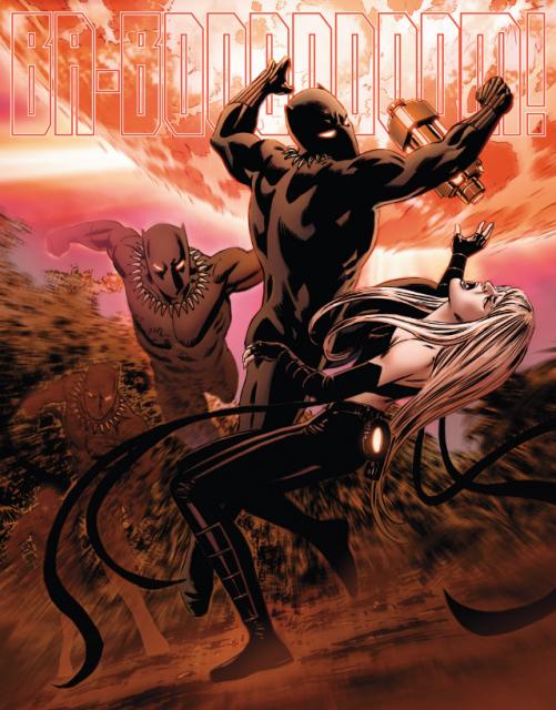 T'Challa, demonstrating his superhuman reflexes.