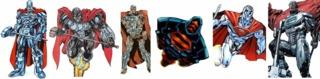 Steel's armors evolution.