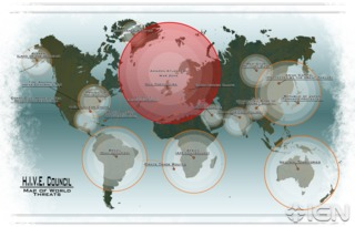 Map of Flashpoint world.