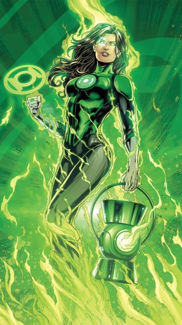 Jessica becoming a Green Lantern