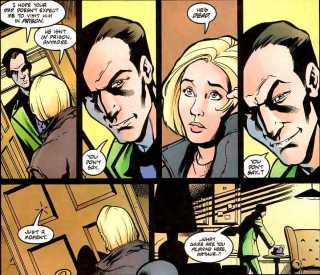 Stephanie meets The Riddler