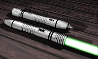 Kit Fisco's Lightsaber.