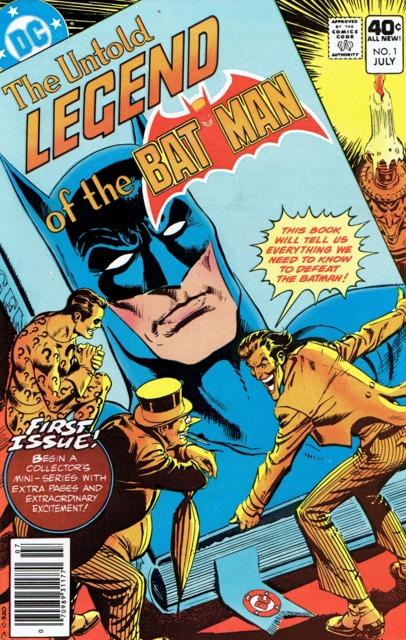 The Untold Legend of the Batman