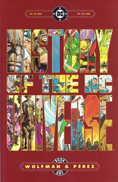 History of the DC Universe