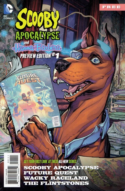 Scooby Apocalypse and Hanna-Barbera Special Preview Edition