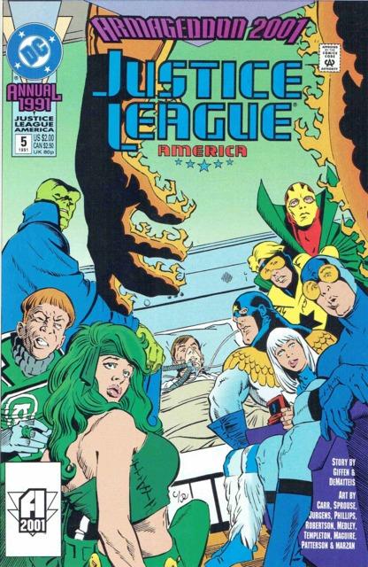 Justice League America Annual