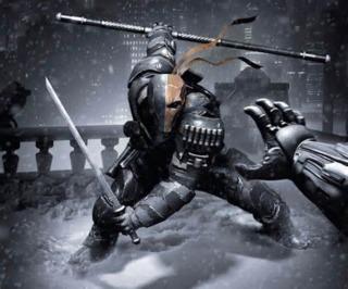 Deathstroke in Arkham Origins