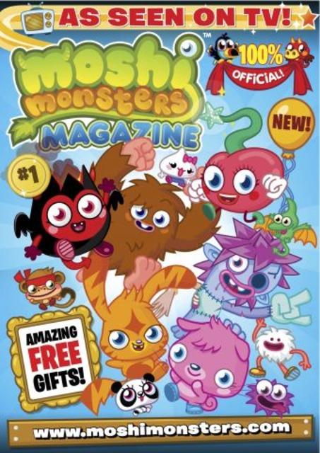 Moshi Monster Magazine