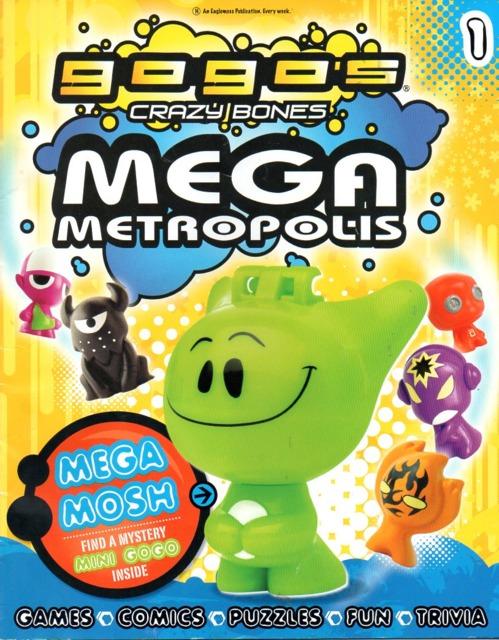 GoGo's Crazy Bones Mega Metropolis
