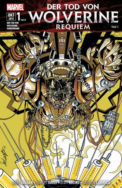 Der Tod Von Wolverine Sonderband: Requiem