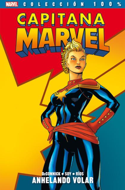100% Marvel. Capitana Marvel