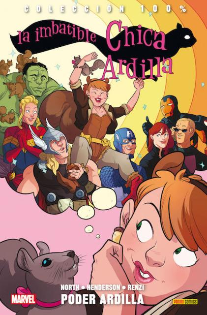 100% Marvel. La Imbatible Chica Ardilla