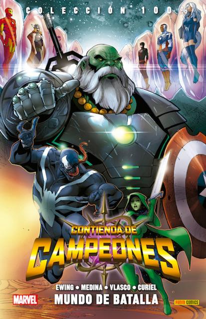 100% Marvel. Contienda de Campeones