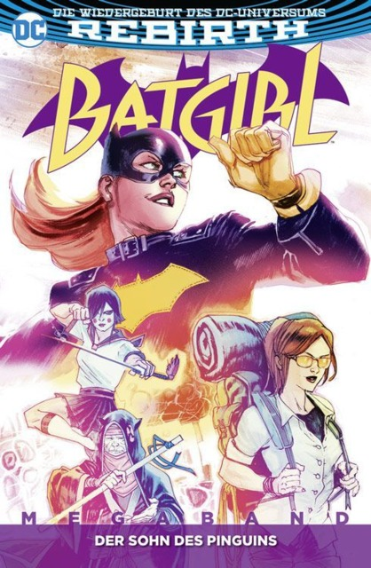 Batgirl Megaband: Der Sohn Des Pinguins