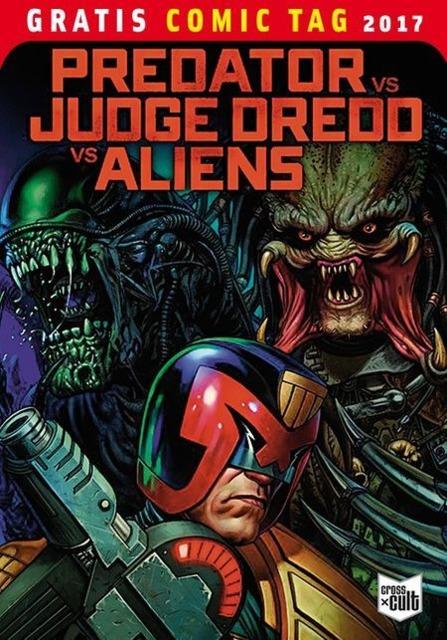 Predator vs. Judge Dredd vs. Aliens: Gratis Comic Tag 2017