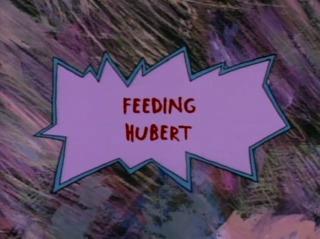 Feeding Hubert