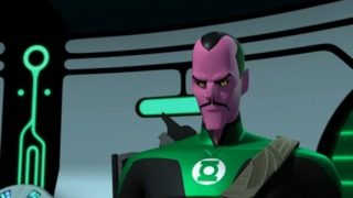 Sinestro as a GL in Green Lantern: The Animated Series