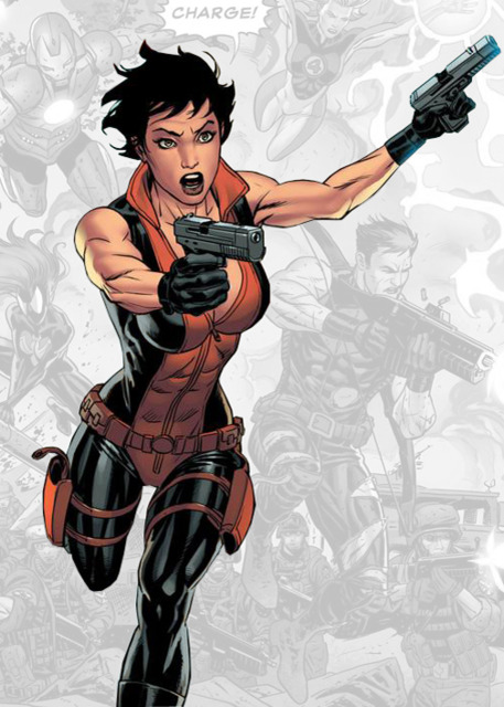 Monica Change, as she appears in the Ultimates Verse