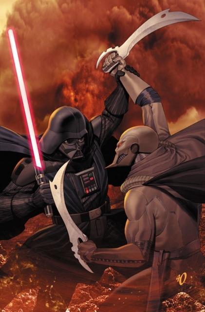 Darth Vader vs the Ninth Assassin