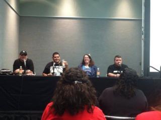 #DeathToFanboys panel at Megacon '14