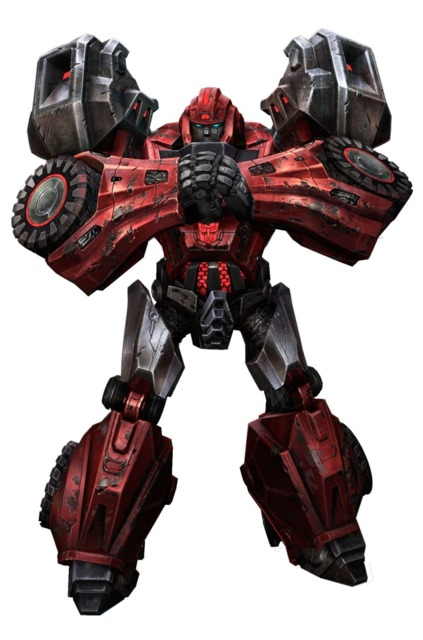 Ironhide in War for Cybertron