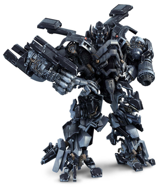 Ironhide in the first two Transformers live-action movies