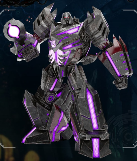 Megatron's new form in Fall of Cybertron