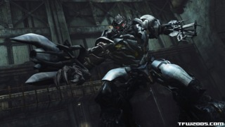 Megatron in his cybertronian form in DotM the game