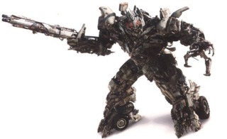 Megatron's new Earth form in Dark of the Moon