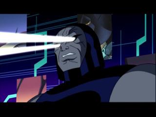 Darkseid in the Justice League cartoon