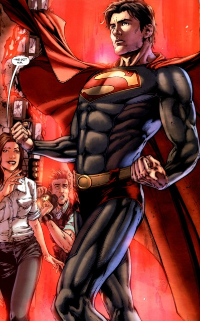 Superman as he appears in Earth-1