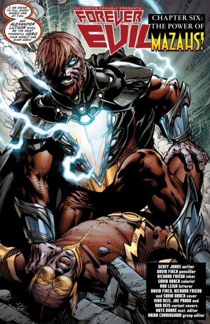 Alexander killing Johnny Quick and stealing his powers