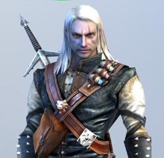 Geralt in Witcher 1