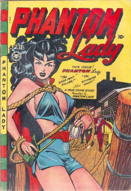 Phantom Lady #17 by Matt Baker