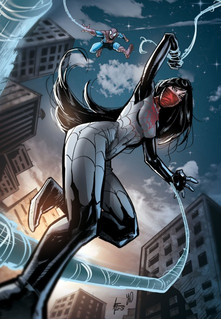 Silk as she appears in Spider-verse and currently