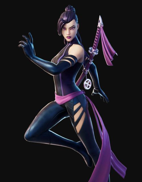 Psylocke in Fortnite