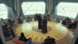 The Jedi Council during the Naboo Crisis