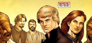 Members of the new Jedi Council