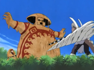 Gaara's special sand shield.