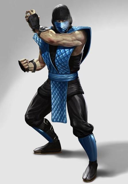 Bi-Han as the Elder Sub-Zero